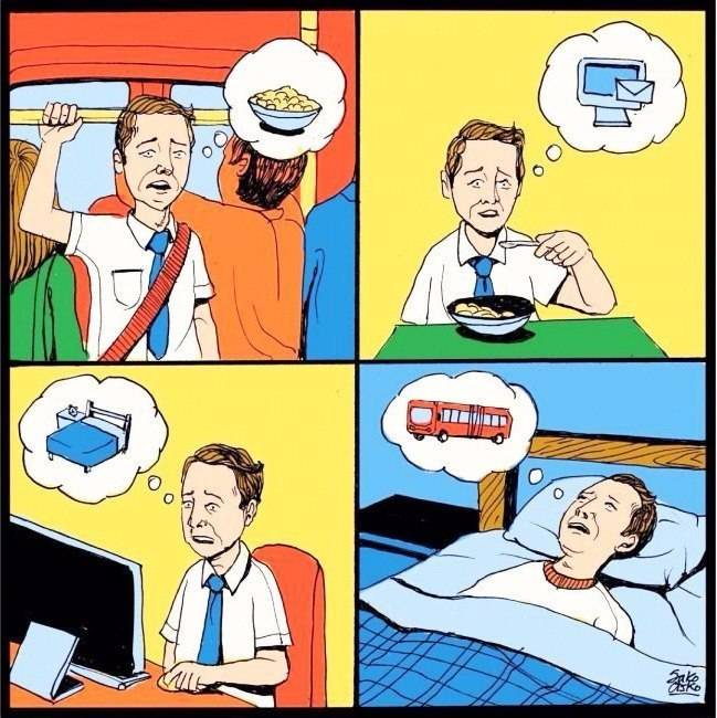 Иллюстрации о современной жизнм
