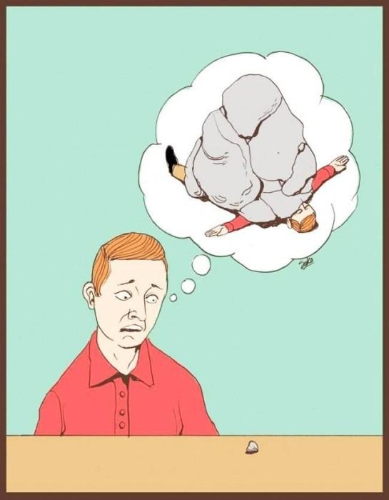 Метафорические картинки о жизни современного общества