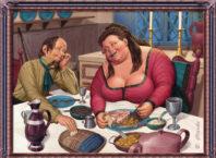 Смешные до слез анекдоты про жену и мужа