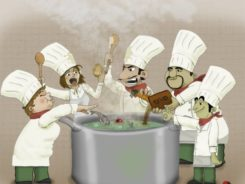 Анекдоты про поваров новые и смешные