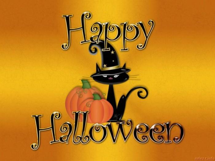 Хэллоуин - прикольные картинки-поздравления