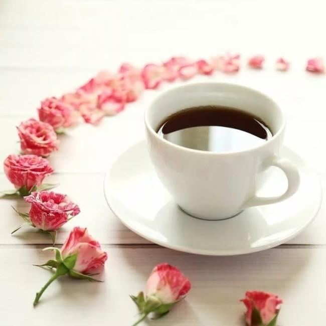Пожелания доброго утра любимой девушке красивые стихи и картинки