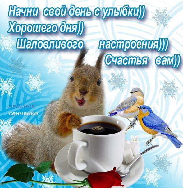 Доброе утро и хорошего настроения картинки с пожеланиями